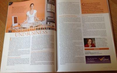 Spagat zwischen Spiritualität und Business